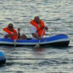 des sudistes sur un bateau