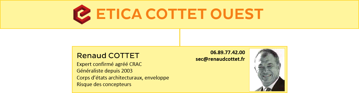 Organigramme ETICA COTTET OUEST